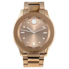 Movado Bold 3600417, Millimeters Gold Dial, Certified and Warranty