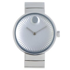 Movado Edge 3680012; Millimeters White Dial, Certified and Warranty