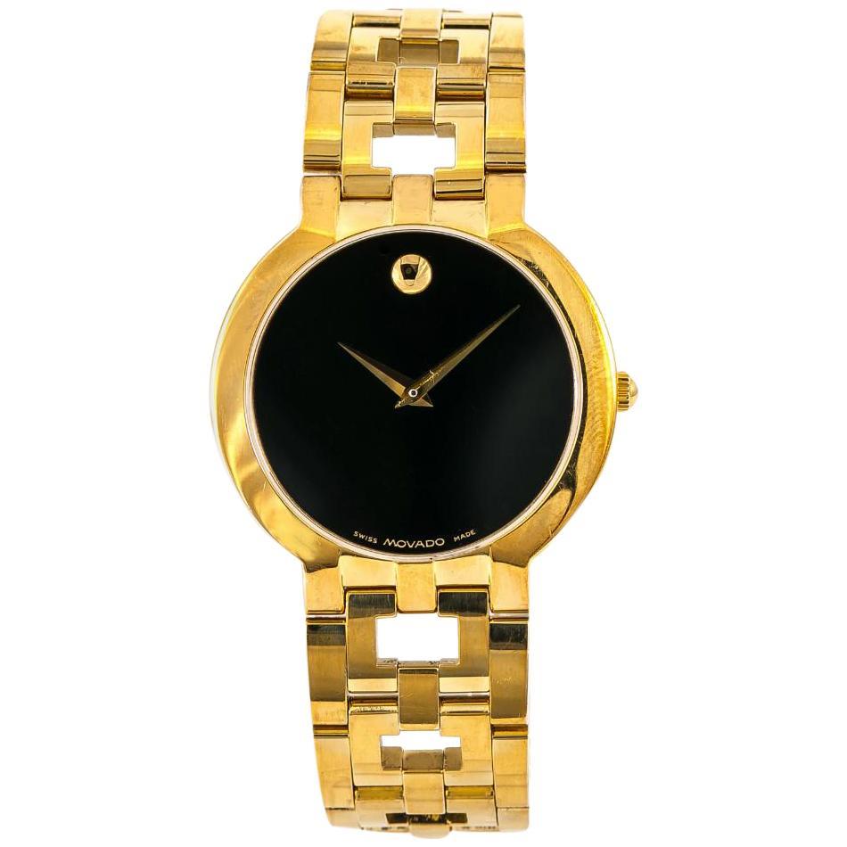 Movado Esperanza 8419861 Men's Watch Quartz Gold-Plated