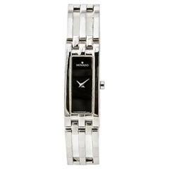 Movado Esperanza 84h51400 Women's Quartz Watch Black Dial Stainless Steel
