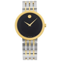 Movado Esperanza Two-Tone Stainless Steel Quartz Ladies Watch 607058