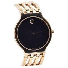 Movado Esperanza Yellow Gold PVD-Finished Stainless Steel Case