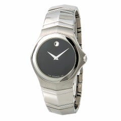Movado Faceto 594, White Dial Certified Authentic