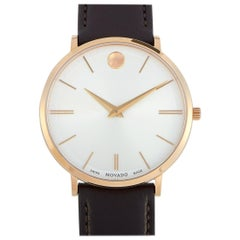 Movado Men's Ultra Slim Rose Gold Watch 0607089