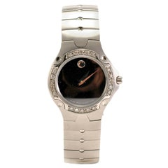Movado Museum 84 A1 1831, Black Dial, Certified and Warranty