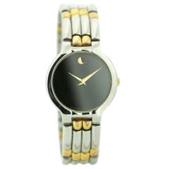 Movado Museum 84.45.821, Black Dial, Certified and Warranty