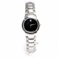 Movado Museum1199, Black Dial Certified Authentic