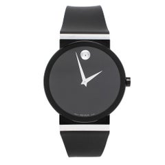 Movado Plated Stainless Steel Sapphire Synergy Men's Wristwatch 42 mm