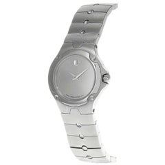 Movado SE Sports Edition Stainless Silver Dial Steel Ladies Watch