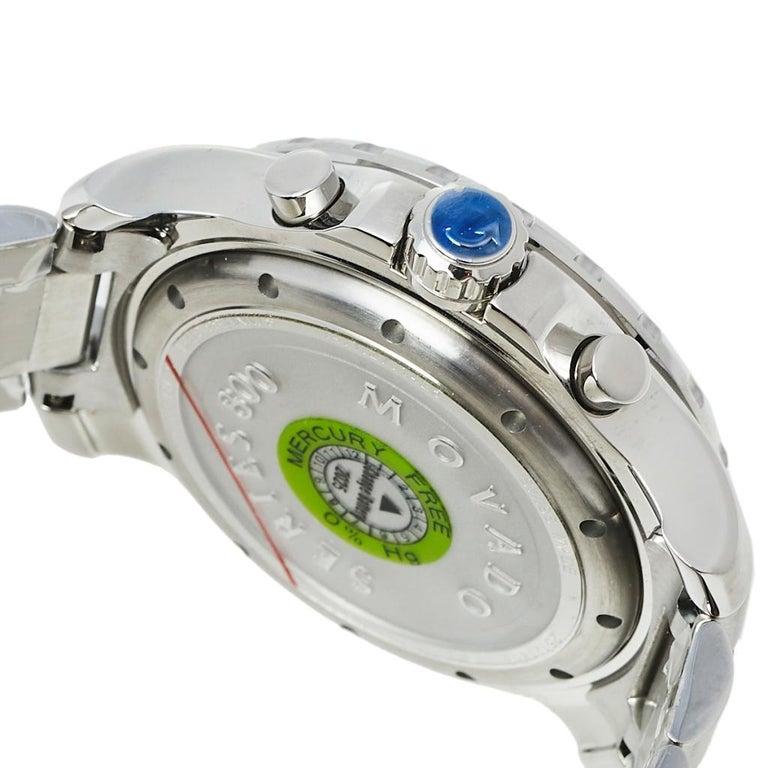 Movado Series 800 Chronograph MO.14.1.27.1425.1127.10/3 Men's Wristwatch 42 mm For Sale 1