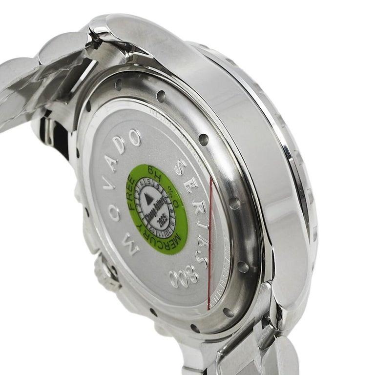 Movado Series 800 Chronograph MO.14.1.27.1425.1127.10/3 Men's Wristwatch 42 mm For Sale 3