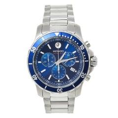 Movado Series 800 Chronograph MO.14.1.27.1425.1127.10/3 Men's Wristwatch 42 mm