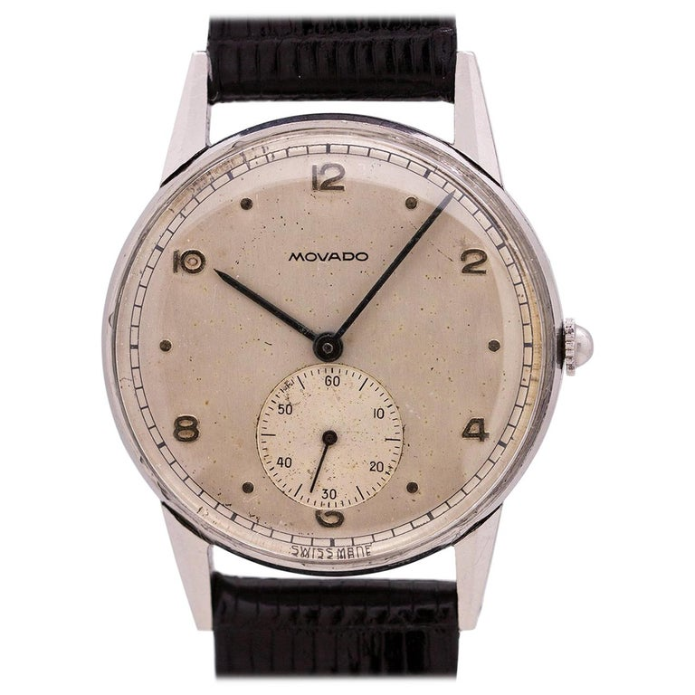 Movado Stainless Steel Manual Wind Watch 2579801b1364