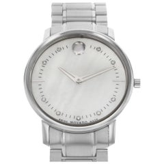 Movado TC 0606691 Stainless Steel Mother of Pearl Dial Quartz Ladies Watch