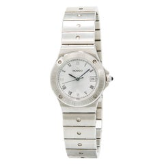 Movado Vintage 3989469 With 6.5 mm Band, Stainless-Steel Bezel & White Dial