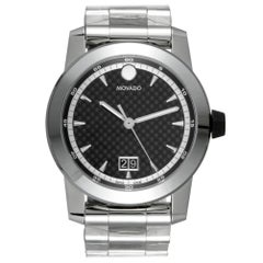 Movado Vizio 607050, Millimeters Missing Dial, Certified and Warranty
