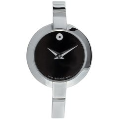 Movado Women's Bela Stainless Steel Bangle Watch 0606595