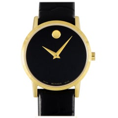 Movado Women's Museum Classic Black Dial Watch 0607222