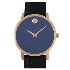 Movado Women's Museum Classic Blue Dial Watch 0607266