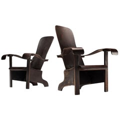 Móveis Cimo Pair of Lounge Chairs