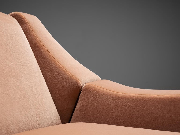Mid-20th Century Móveis Cimo Pair of Sculptural Lounge Chairs