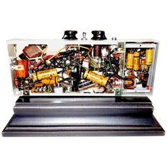 Movie Projector Primitive Electronics, Midcentury, Vintage, Display as Sculpture