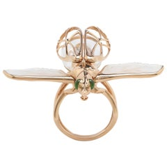 Moving Insect Ring
