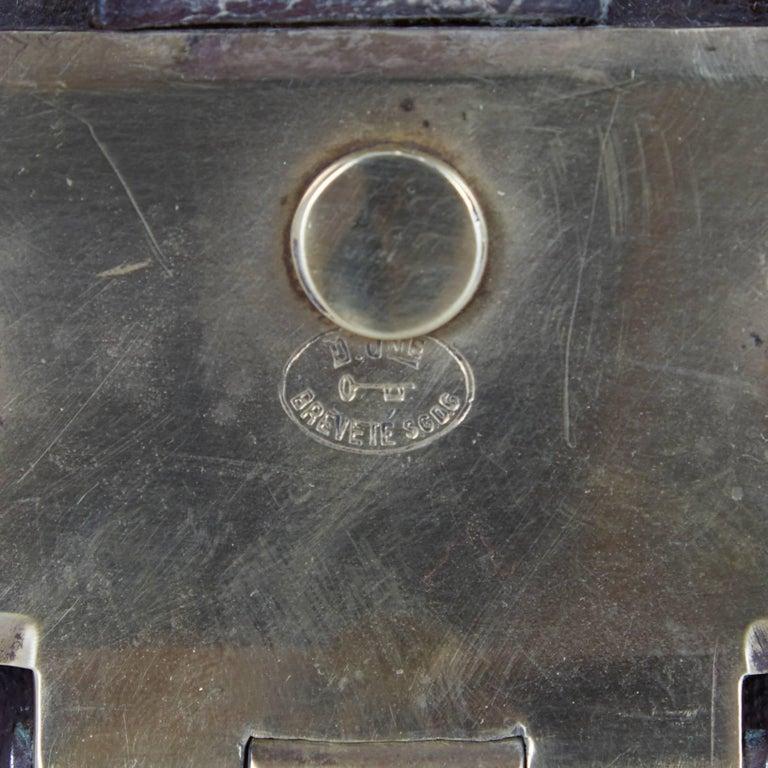 Moynat Steamer Trunk, Restored, France circa 1920s For Sale 2