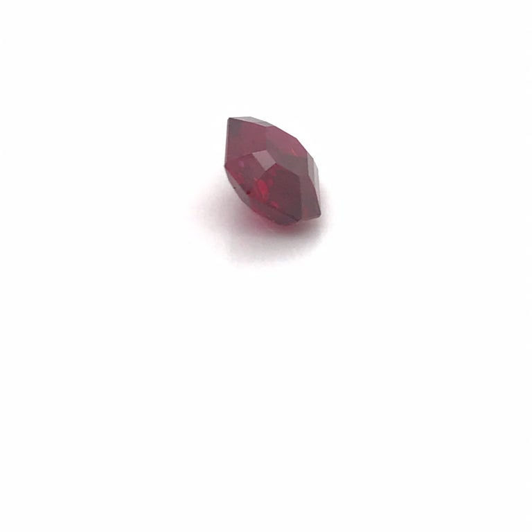 Mozambique Natural Ruby Pigeon Blood 5.38 Carat For Sale 2