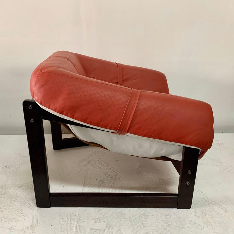 Mid-Century Modern MP-091 Percival Lafer Lounger/ Armchair For Sale