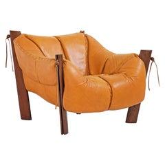 MP-211 Lounge Chair by Brazilian Designer Percival Lafer for Móveis Lafer