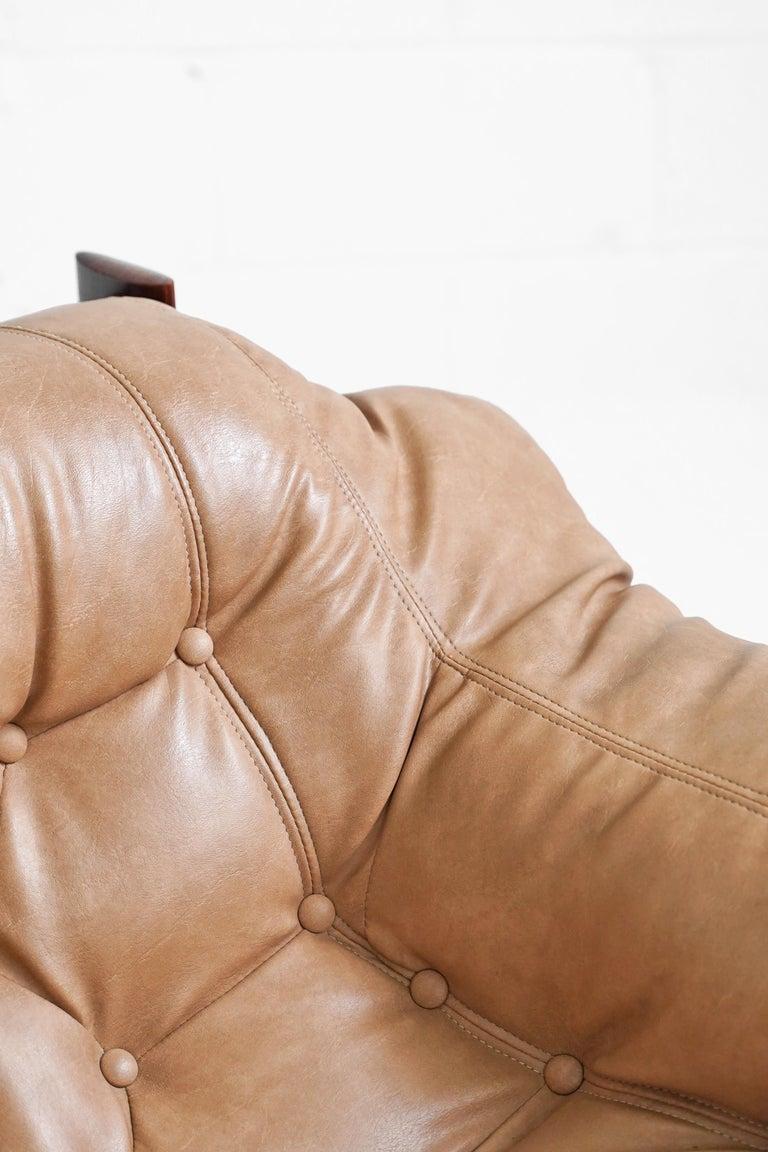 MP-41 Lounge Chair by Brazilian Designer Percival Lafer for Móveis Lafer For Sale 6