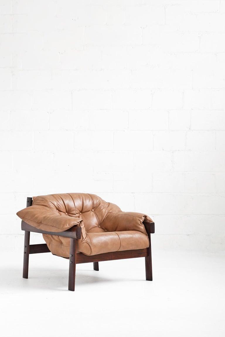 MP-41 Lounge Chair by Brazilian Designer Percival Lafer for Móveis Lafer For Sale 7