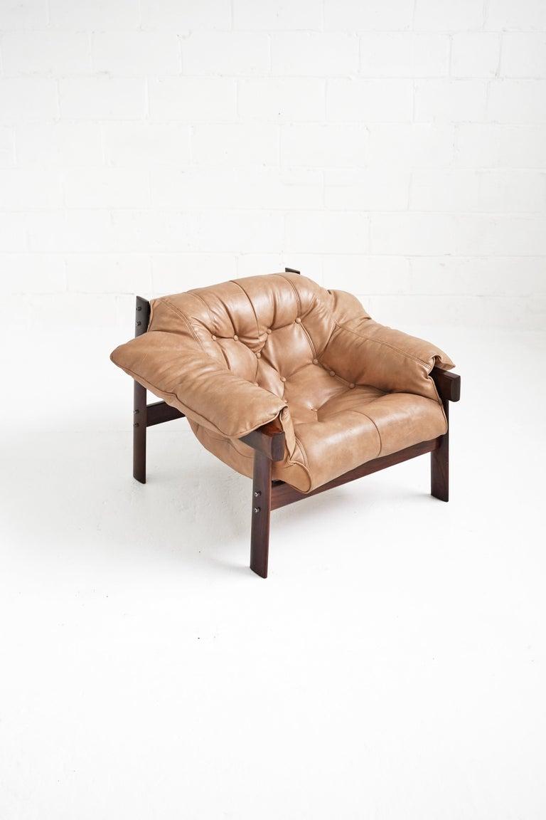 MP-41 Lounge Chair by Brazilian Designer Percival Lafer for Móveis Lafer For Sale 8