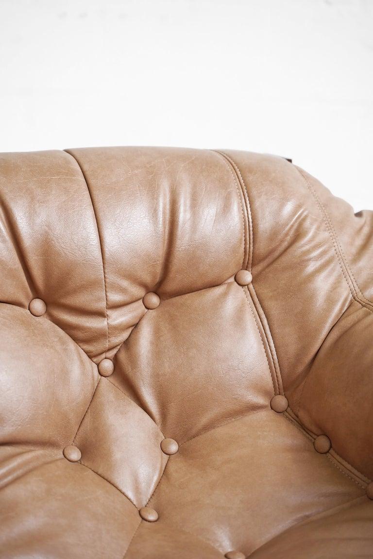 MP-41 Lounge Chair by Brazilian Designer Percival Lafer for Móveis Lafer For Sale 9