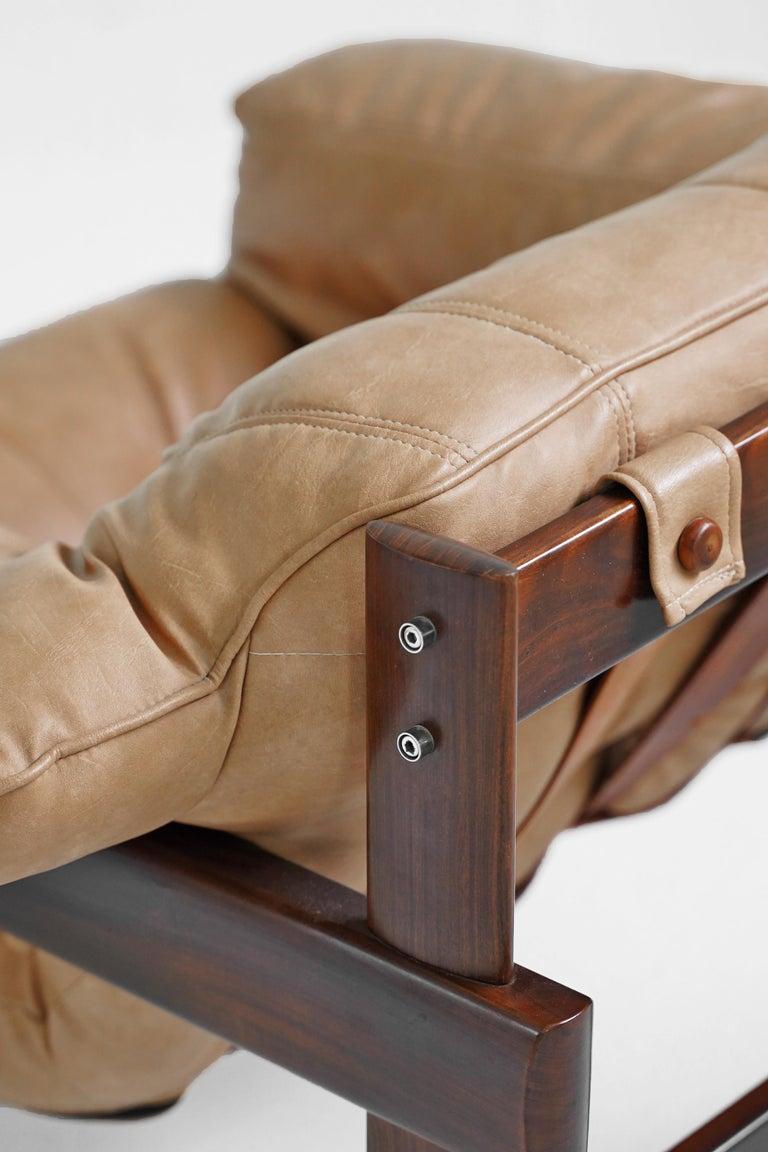 Jacaranda MP-41 Lounge Chair by Brazilian Designer Percival Lafer for Móveis Lafer For Sale