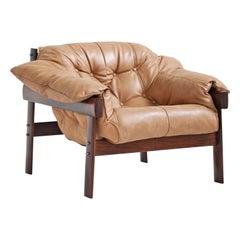 MP-41 Lounge Chair by Brazilian Designer Percival Lafer for Móveis Lafer