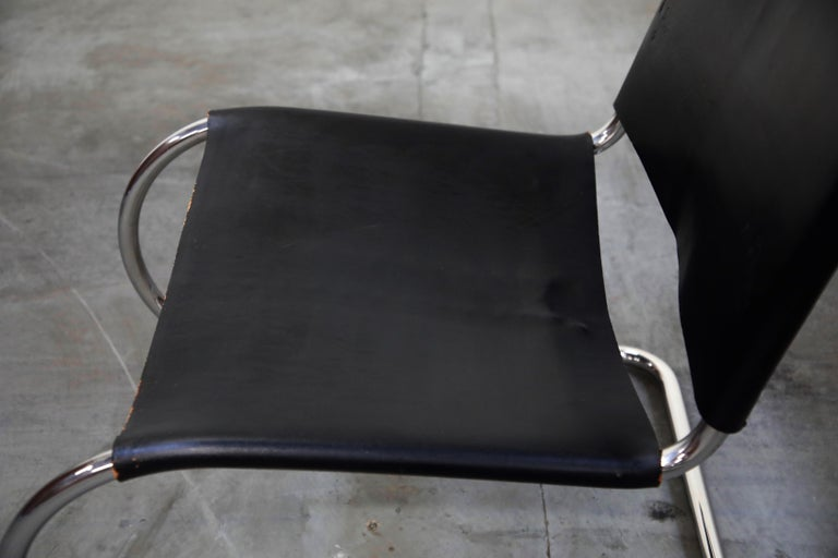 MR 30/5 Lounge Chairs by Mies van der Rohe for Knoll International, Signed Pair For Sale 8