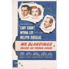 Mr. Blandings Builds His Dream House 1948 U.S. One Sheet Film Poster