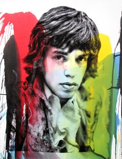 Rock Idol Mick Jagger, 2016