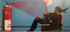 Max Spray Signed Edition NYC Icons Show Signed Very Rare 2010 Mr. Brainwash MBW