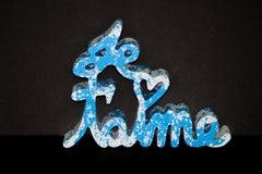 Je T'aime (Blue Splash)