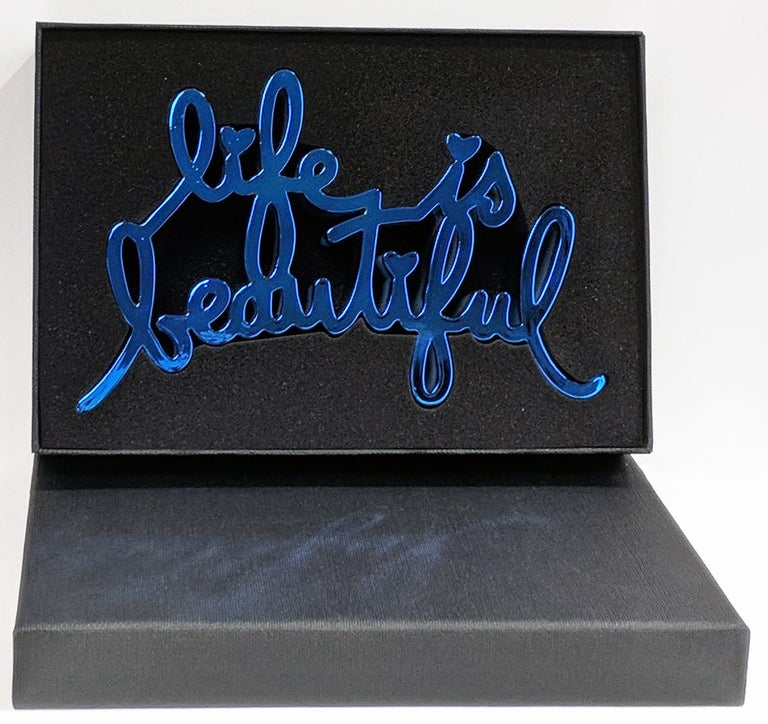LIFE IS BEAUTIFUL (HARD CANDY BLUE) For Sale 3
