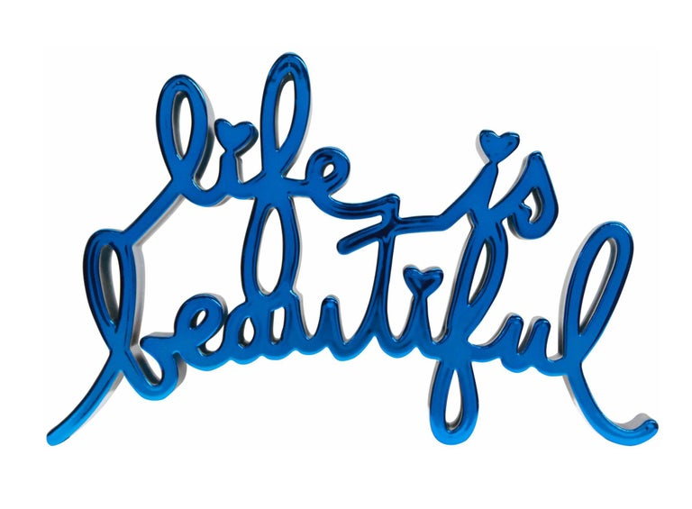 LIFE IS BEAUTIFUL (HARD CANDY BLUE) For Sale 4