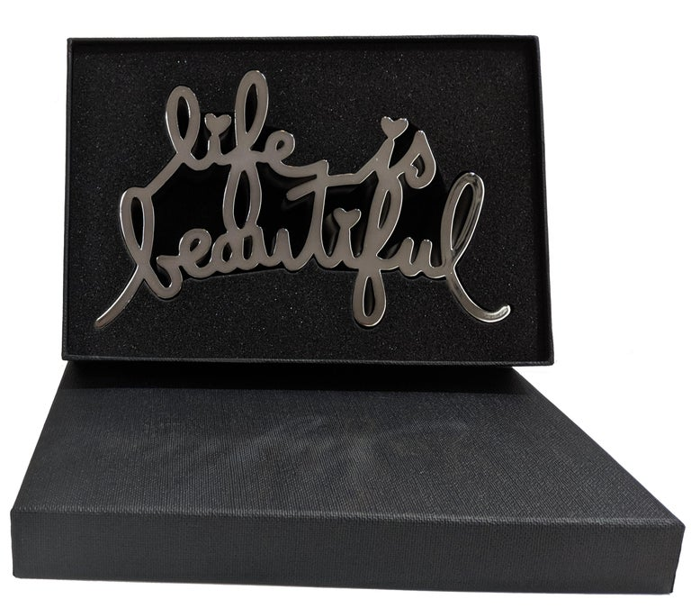 LIFE IS BEAUTIFUL (HARD CANDY SILVER) For Sale 3