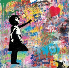 Balloon Girl by Mr. Brainwash