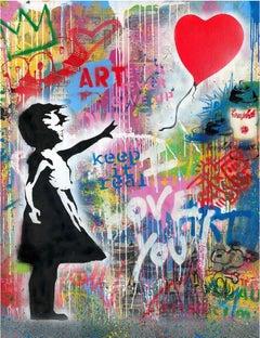 Balloon Girl by Mr. Brainwash