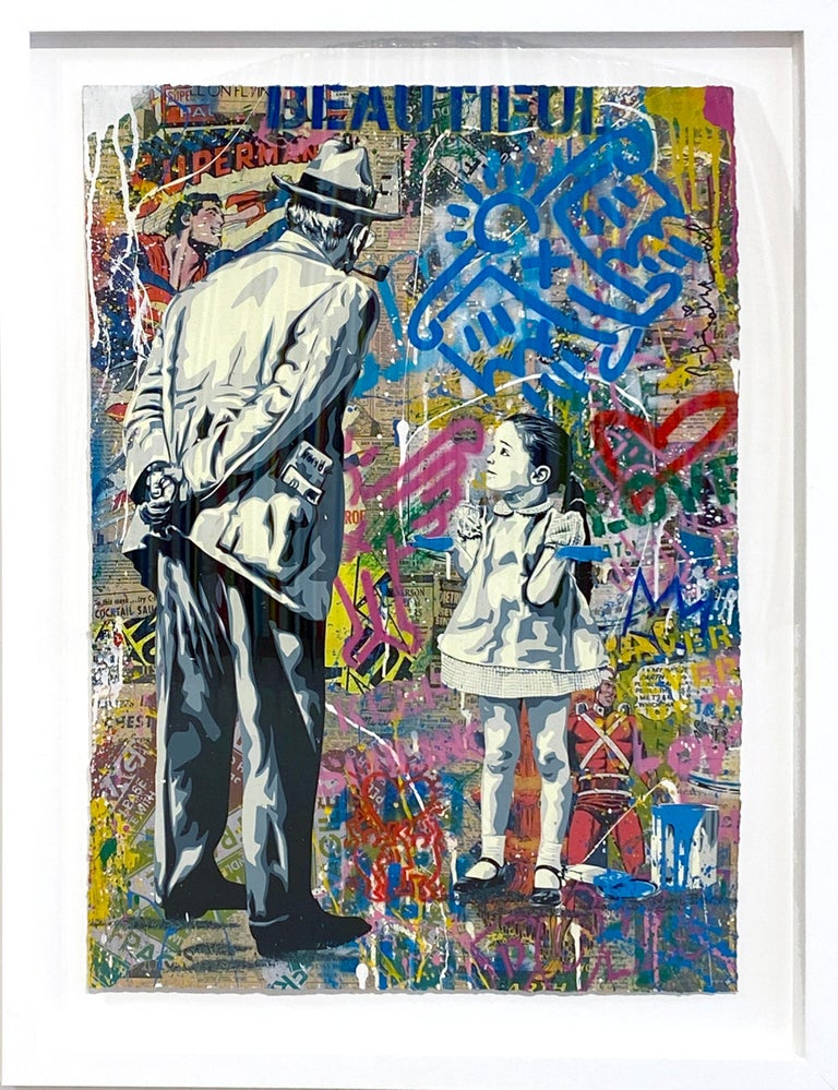 Caught Red Handed - Mixed Media Art by Mr. Brainwash