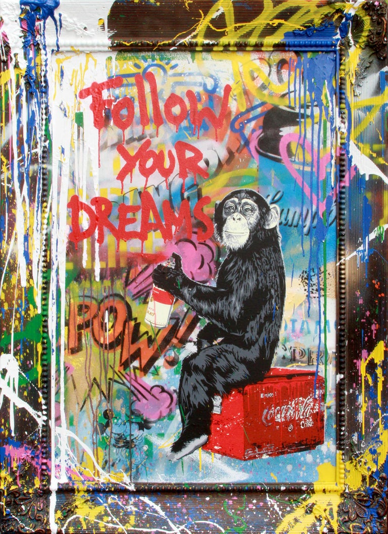 Everyday Life - Mixed Media Art by Mr. Brainwash