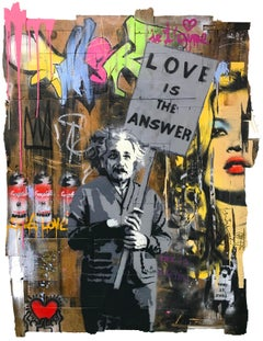 LOVE IS THE ANSWER (EINSTEIN)